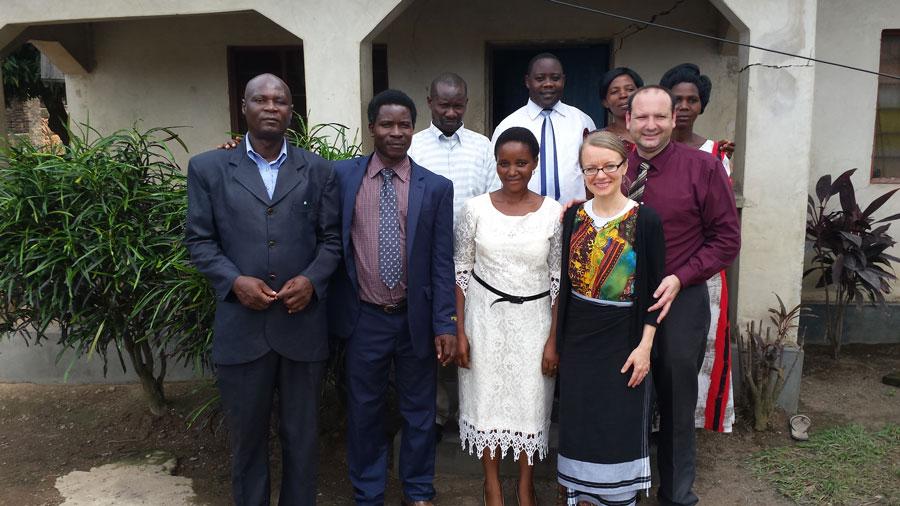 Kasia i jej mąż Daniel w Tanzanii