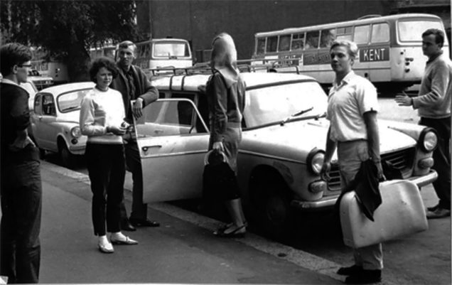 Misjonarze OM w latach 1960-tych.